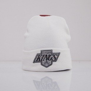 Mitchell & Ness beanie Los Angeles Kings white Team Talk EU175
