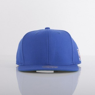 Mitchell & Ness cap NBA Logo royal Logoman EU412