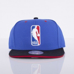 Mitchell & Ness cap NBA Logoman blue Tip Off