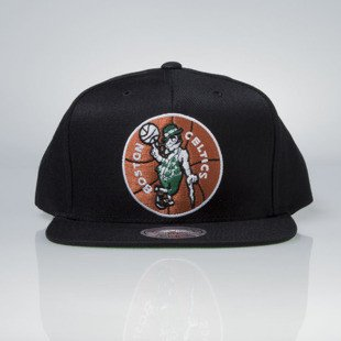 Mitchell & Ness cap snapback Boston Celtics black Wool Solid / Solid 2 NZ979
