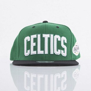 Mitchell & Ness cap snapback Boston Celtics green Championship VJ82Z
