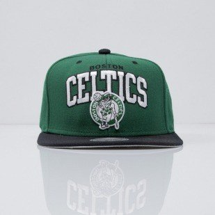 Mitchell & Ness cap snapback Boston Celtics green Team Arch NA80Z