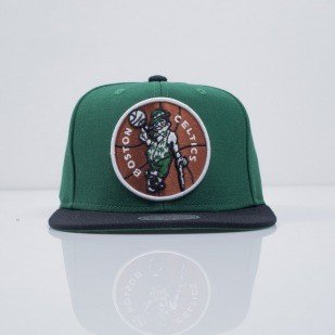 Mitchell & Ness cap snapback Boston Celtics green XL Logo 2Tone NJ16Z