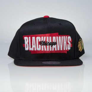 Mitchell & Ness cap snapback Chicago Blackhawks black Winning Streak VU84Z