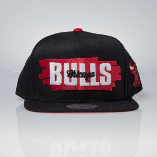 Mitchell & Ness cap snapback Chicago Bulls black Winning Streak VU81Z