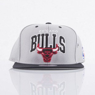 Mitchell & Ness cap snapback Chicago Bulls grey Team Arch NA80Z