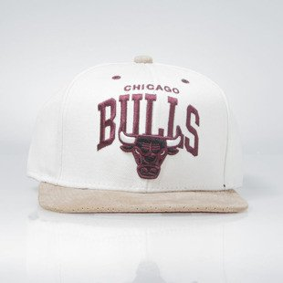 Mitchell & Ness cap snapback Chicago Bulls natural EU167 PERFARC