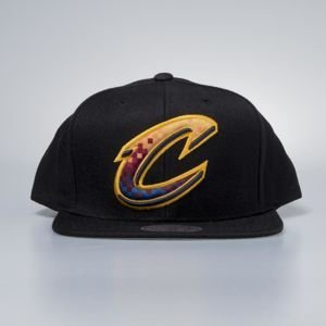 Mitchell & Ness cap snapback Cleveland Cavaliers black Easy Three Digital XL