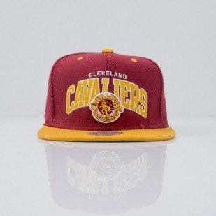 Mitchell & Ness cap snapback Cleveland Cavaliers maroon Team Arch NA80Z