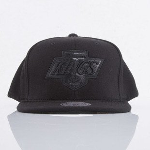 Mitchell & Ness cap snapback Los Angeles Kings black Black Out EU783