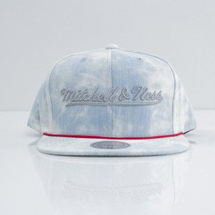 Mitchell & Ness cap snapback Los Angeles Lakers blue Light Acid Washed VE96Z