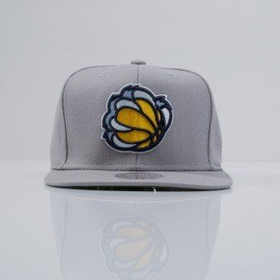 Mitchell & Ness cap snapback Memphis Grizzlies grey  WOOL SOLID NT78Z