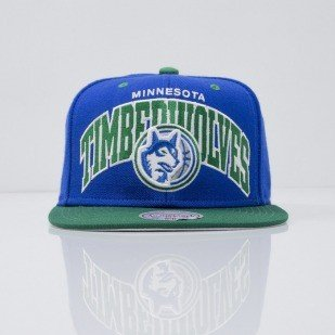 Mitchell & Ness cap snapback Minnesota Timberwolves royal Team Arch NA80Z