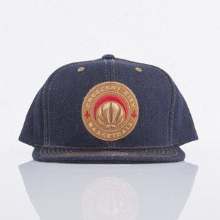Mitchell & Ness cap snapback New Orlean Pelicans denim Dark Denim EU786