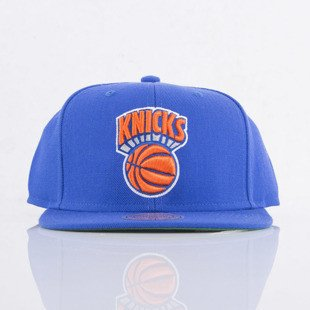 Mitchell & Ness cap snapback New York Knicks blue SOLID CROWN NZ979