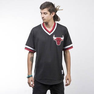 Mitchell & Ness jersey Chicago Bulls black Mesh V-Neck
