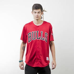Mitchell & Ness jersey Chicago Bulls red Mesh Button Front