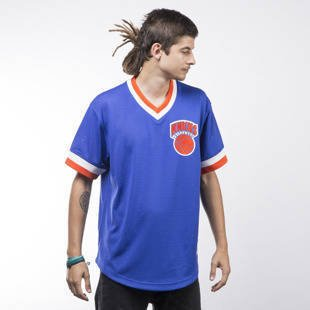 Mitchell & Ness jersey New Yrok Knicks royal  Mesh V-Neck