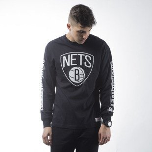 Mitchell & Ness longsleeve Brooklyn Nets black  FREE THROW