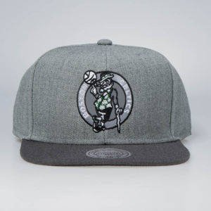 Mitchell & Ness snapback Boston Celtics grey / charcoal Heather Reflective