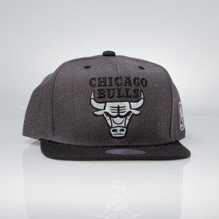 Mitchell & Ness snapback Brooklyn Nets charcoal / black EU944 G3 Logo