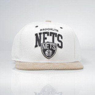 Mitchell & Ness snapback Brooklyn Nets natural EU167 Perfarc