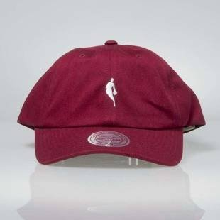 Mitchell & Ness snapback NBA burgundy / white INTL053 Little Dribbler Dad Hat
