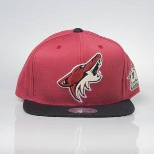 Mitchell & Ness snapback cap Arizona Coyotes burgundy / black All Star Game 2Tone 464VZ