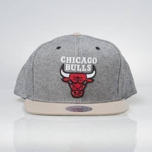 Mitchell & Ness snapback cap Chicago Bulls denim Denim Khaki VS59Z