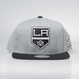Mitchell & Ness snapback cap Los Angeles Kings grey heather / black All Star Game 2Tone 464VZ