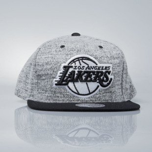 Mitchell & Ness snapback cap Los Angeles Lakers grey heather / black EU957 GREY DUSTER