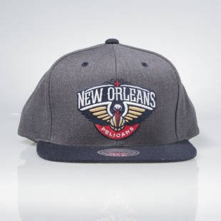 Mitchell & Ness snapback cap New Orleans Pelicans dark grey / navy