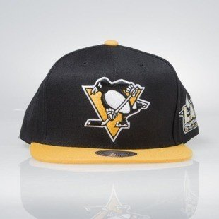 Mitchell & Ness snapback cap Pittsburgh Penguins black / yellow All Star Game 2Tone 464VZ