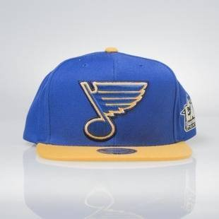 Mitchell & Ness snapback cap Saint Louis Blues royal / yellow All Star Game 2Tone 464VZ
