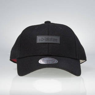 Mitchell & Ness snapback cap The New Designers black TND012 MELTON WOOL FABRIC