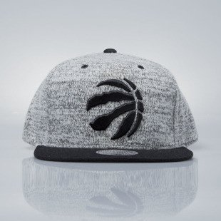 Mitchell & Ness snapback cap Toronto Raptors grey heather / black EU957 GREY DUSTER