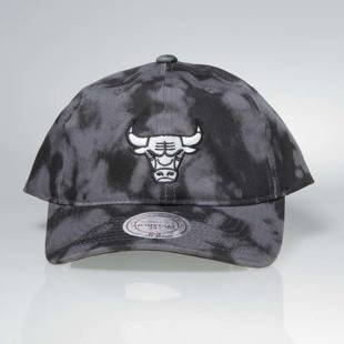 Mitchell & Ness strapback Chicago Bulls black Multi Colour Acid Wash