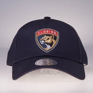 Mitchell & Ness strapback Florida Panthers navy Team Logo Low Pro