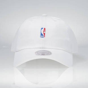 Mitchell & Ness strapback Logo white HUD011 NBA Logo Low Pro