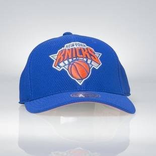 Mitchell & Ness strapback New York Knicks royal Hexagon Jersey Mesh Hook and Loop