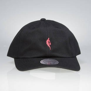 Mitchell & Ness strapback cap NBA black / pink QB03Z LITTLE DRIBBLER DAD HAT
