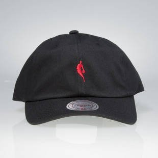 Mitchell & Ness strapback cap NBA black / red QB03Z LITTLE DRIBBLER DAD HAT