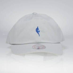 Mitchell & Ness strapback cap NBA grey / royal QB03Z LITTLE DRIBBLER DAD HAT