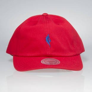 Mitchell & Ness strapback cap NBA red / royal QB03Z LITTLE DRIBBLER DAD HAT