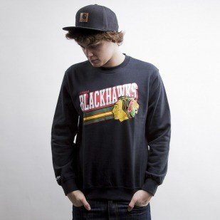 Mitchell & Ness sweatshir Chicago Blackhawks black Race To The Finish