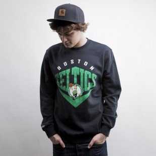 Mitchell & Ness sweatshirt Boston Celtics black Beveled Logo