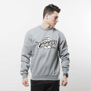 Mitchell & Ness sweatshirt crewneck Cleveland Cavaliers grey BLACK and WHITE LOGO