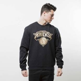 Mitchell & Ness sweatshirt crewneck New York Knicks black NBA WINNING PERCENTAGE