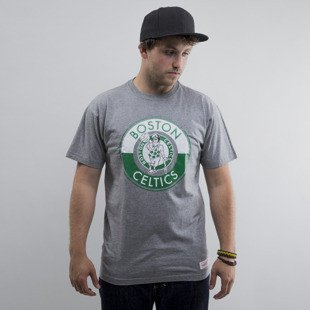 Mitchell & Ness t-shirt Boston Celtics dark grey Split Colour Traditional