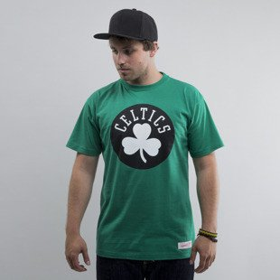 Mitchell & Ness t-shirt  Boston Celtics green Black and White Logo Traditional